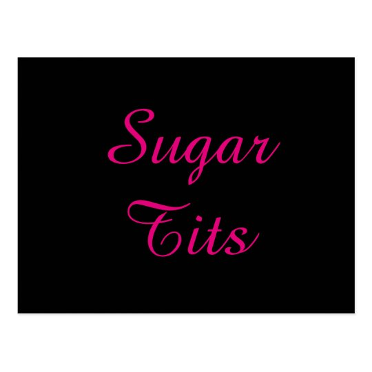 Sugar Tits Postcard
