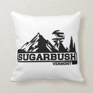 Sugarbush Vermont Throw Pillow