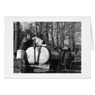 Sugaring Vermont Card