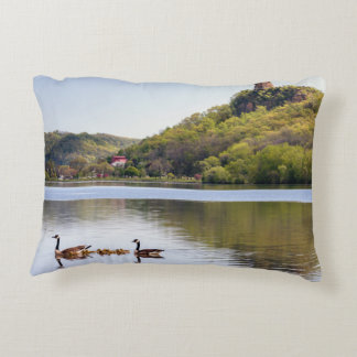 Sugarloaf Geese Accent Pillow