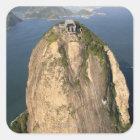 Sugarloaf Mountain, Rio de Janeiro, Brazil Square Sticker