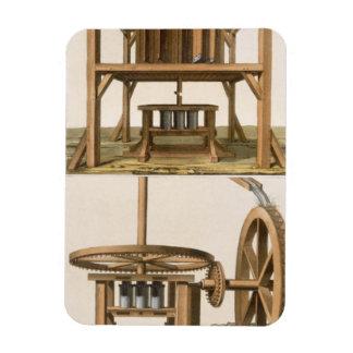 Sugarmills, Antilles (colour engraving) Rectangular Photo Magnet