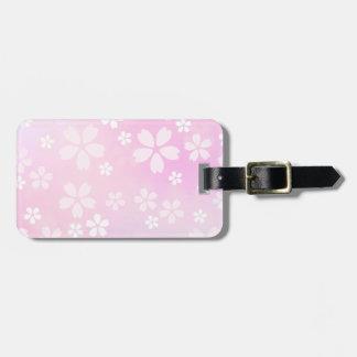 sugarparade Sakura Bloom Luggage Tag