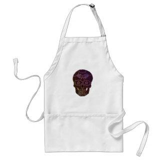 sugarskull2 standard apron
