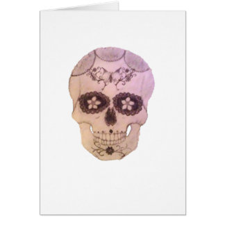 sugarskull card