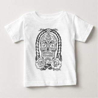 Sugarskull Tattoo Art By Sweetpieart Baby T-Shirt