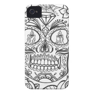 Sugarskull Tattoo Art By Sweetpieart iPhone 4 Covers