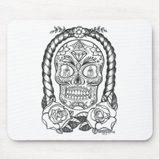 Sugarskull Tattoo Art By Sweetpieart Mouse Pad