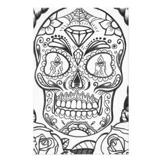 Sugarskull Tattoo Art By Sweetpieart Stationery
