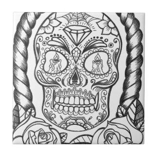 Sugarskull Tattoo Art By Sweetpieart Tile