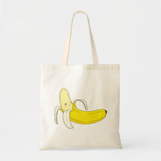 Suggestive Banana Tote Budget Tote Bag