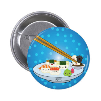 Suhsi Platter 2 Inch Round Button