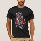 Sui Riu Japanese Dragon Tshirt