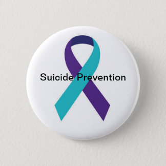 Suicide Awareness Ribbon Button