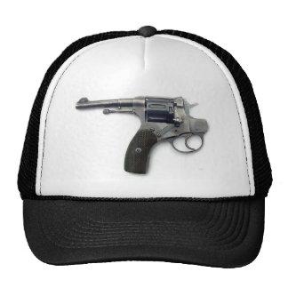 Suicide gun trucker hat