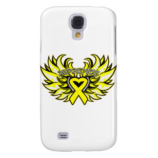 Suicide Prevention Awareness Heart Wings.png Samsung Galaxy S4 Covers