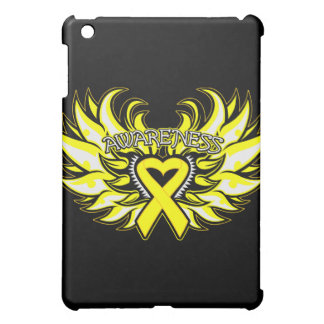 Suicide Prevention Awareness Heart Wings.png Cover For The iPad Mini