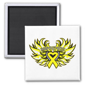Suicide Prevention Awareness Heart Wings.png Magnet