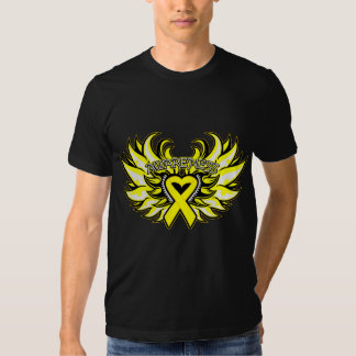 Suicide Prevention Awareness Heart Wings.png T-shirt