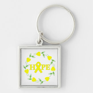 Suicide Prevention Awareness Hearts of Hope Keychains