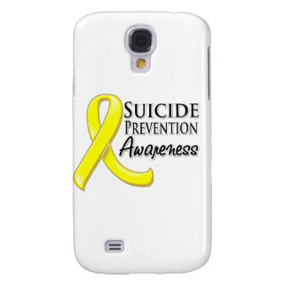 Suicide Prevention Awareness Ribbon Galaxy S4 Case