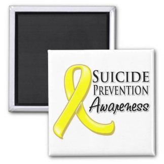 Suicide Prevention Awareness Ribbon Refrigerator Magnet