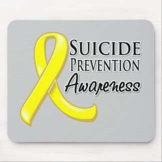 Suicide Prevention Awareness Ribbon Mouse Pad
