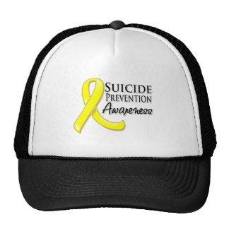 Suicide Prevention Awareness Ribbon Trucker Hats