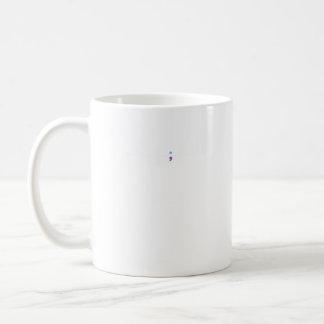 Suicide Prevention Awareness Semicolon Heartbeat Coffee Mug