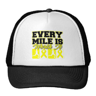 Suicide Prevention Every Mile is Worth It Hat