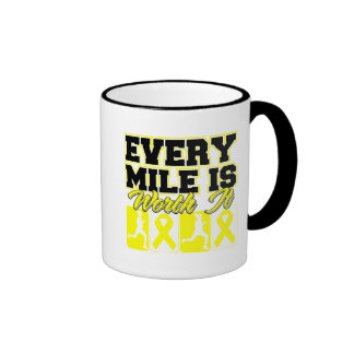 Suicide Prevention Every Mile is Worth It Coffee Mugs