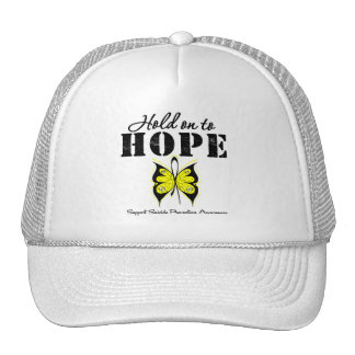 Suicide Prevention Hold On To Hope Hats