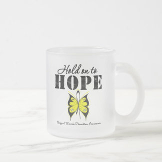 Suicide Prevention Hold On To Hope Mug