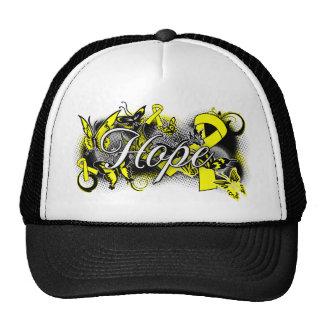 Suicide Prevention Hope Garden Ribbon Trucker Hat