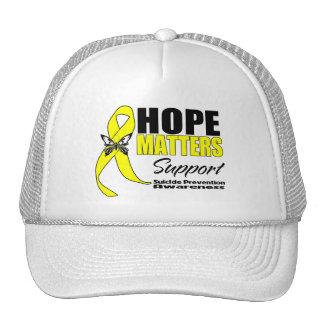 Suicide Prevention Hope Matters Trucker Hat
