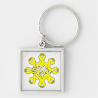 Suicide Prevention Hope Unity Ribbons Key Chain
