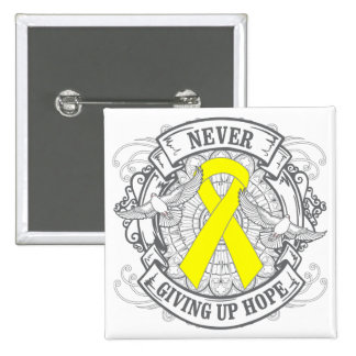 Suicide Prevention Never Giving Up Hope 2 Inch Square Button