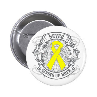 Suicide Prevention Never Giving Up Hope Button