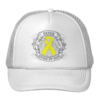 Suicide Prevention Never Giving Up Hope Hat