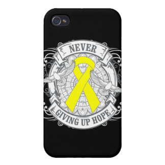Suicide Prevention Never Giving Up Hope iPhone 4 Cases