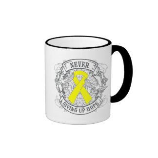 Suicide Prevention Never Giving Up Hope Coffee Mugs