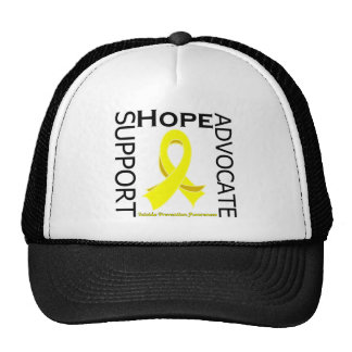 Suicide Prevention Support Advocate Cure Hats