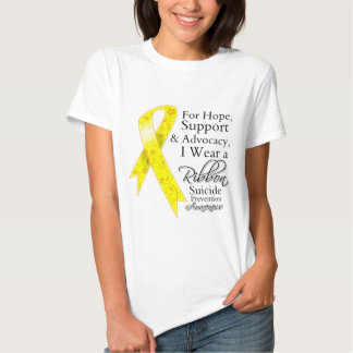 Suicide Prevention Support Hope Awareness Shirt