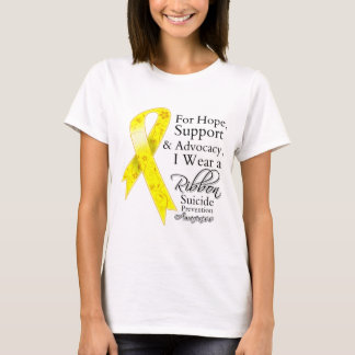 Suicide Prevention Support Hope Awareness T-Shirt