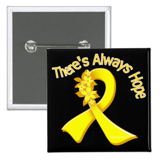 Suicide Prevention There s Always Hope Floral Buttons