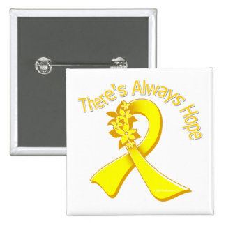Suicide Prevention There s Always Hope Floral Button