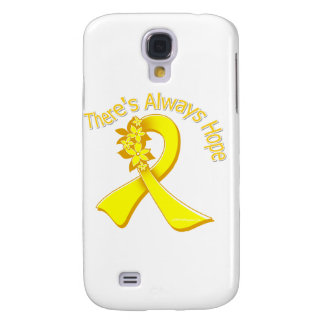 Suicide Prevention There's Always Hope Floral Galaxy S4 Cases