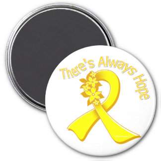 Suicide Prevention There's Always Hope Floral Fridge Magnets