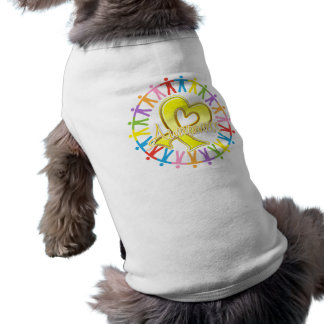 Suicide Prevention Unite in Awareness Dog Shirt