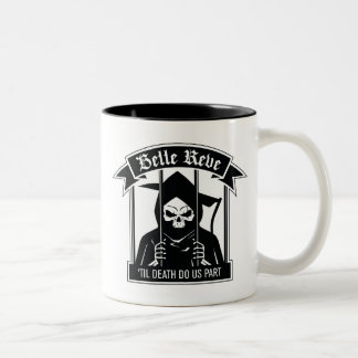 Suicide Squad | Belle Reve Reaper Graphic Two-Tone Coffee Mug